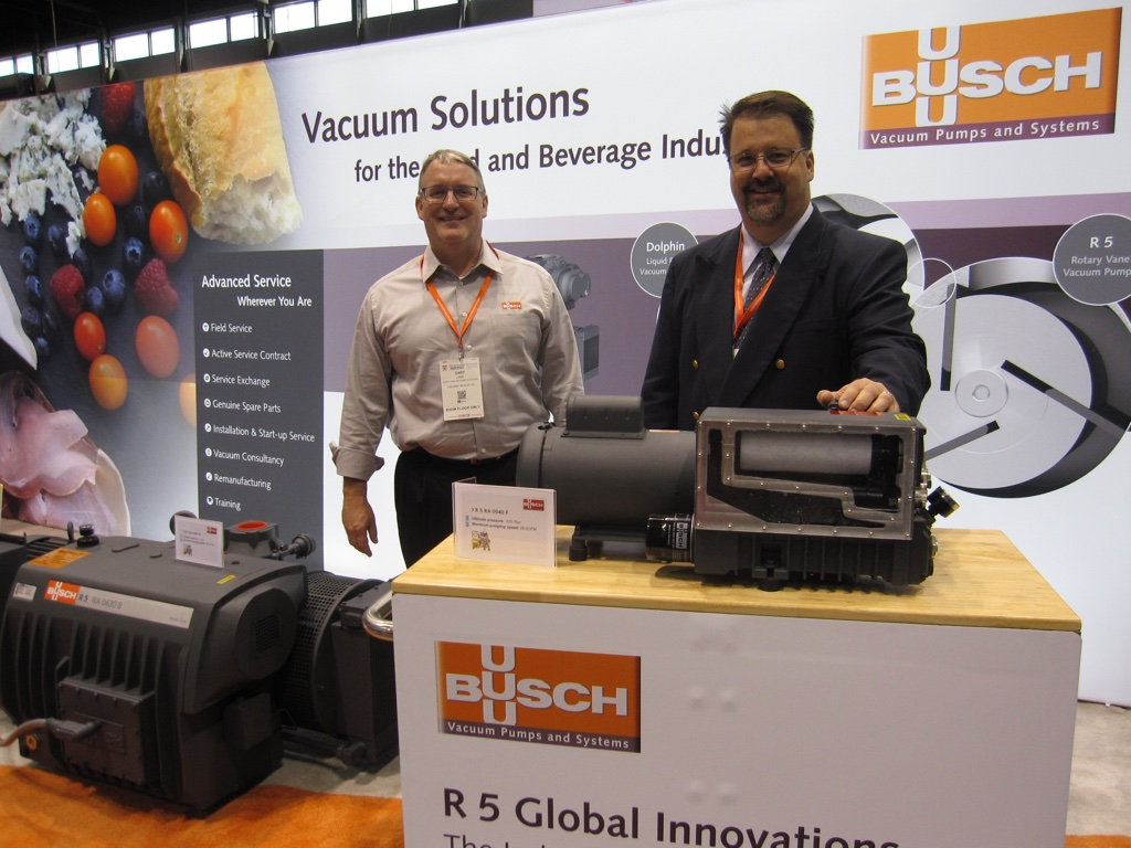 Busch at Process Expo 2017