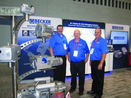Becker at Process Expo 207
