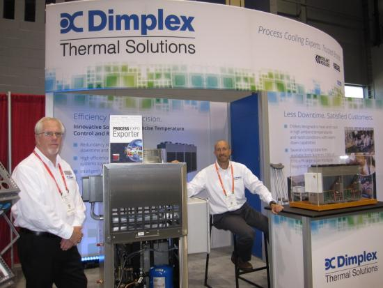 Dimplex at Process Expo 2017