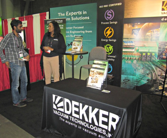 Dekker at IWF