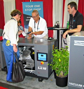Atlas Copco Vac at IWF