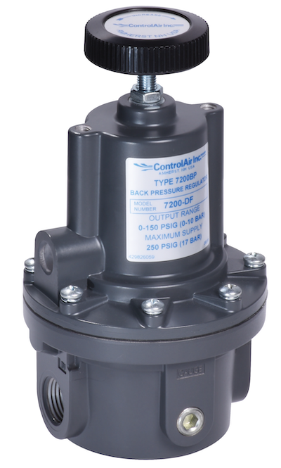 7200BP Precision Back Pressure Regulator from ControlAir