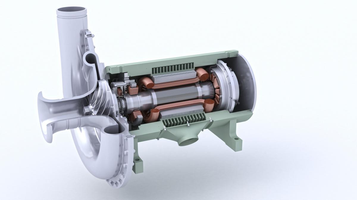 High Speed Blower : Magnetic bearings an attractive force for energy