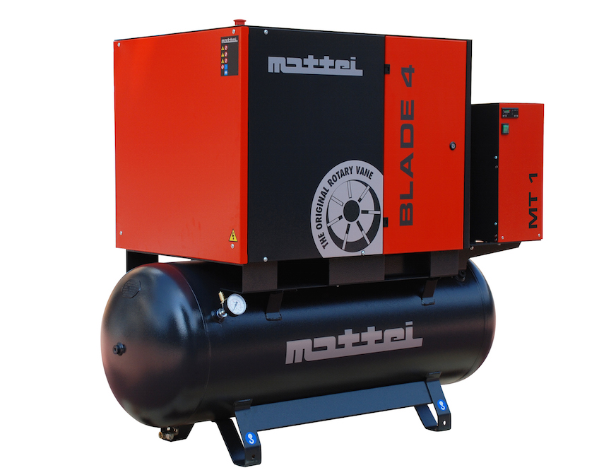 Compressed Air Blades : Mattei launches blade se quality air station compressed