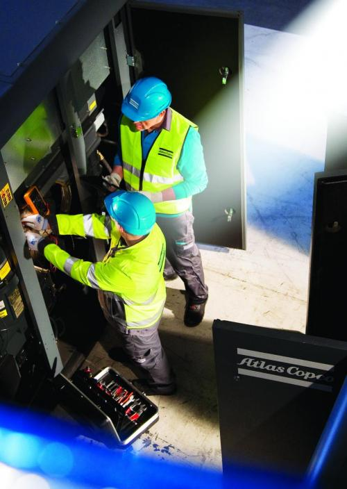 Atlas Copco Technicians