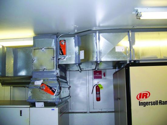 Heat recovery ventilation system