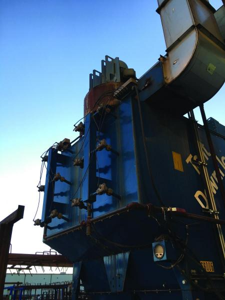 Outdoor dust collector