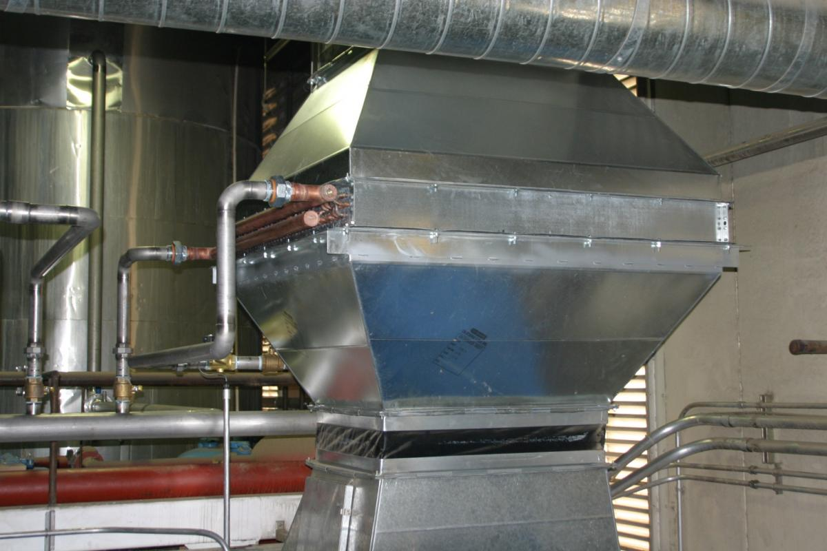 Air Cooled Heat Exchanger : Nestlé beats the heat innovative air to water