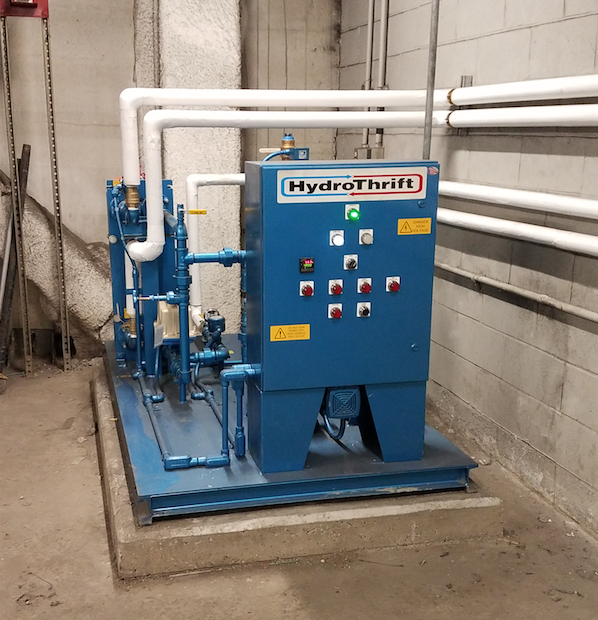 Hydrothrift Heat Recovery System