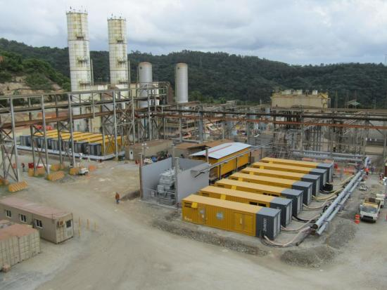 Atlas Copco at a gold mine
