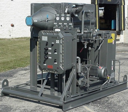 MVC 195F Gas Dryer