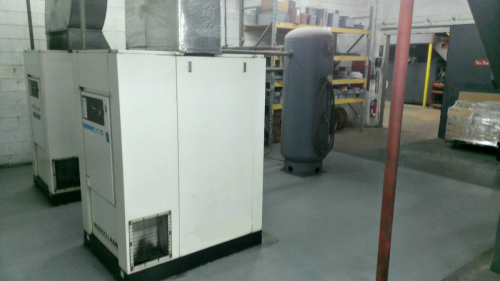 packaging company receives more than just backup air compressed the existing installation had five 50 hp and one 20 hp single stage lubricated rotary screw compressors running partially loaded