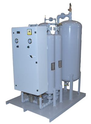 Nitrogen Solutions for the Food Industry Generated on Location