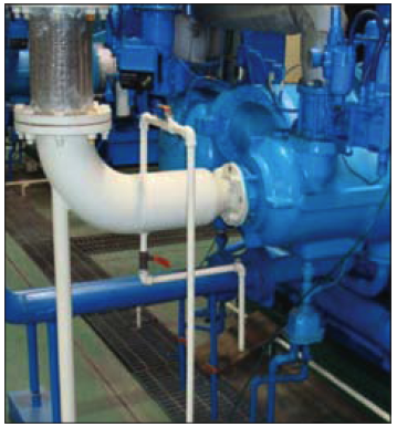 Discharge piping