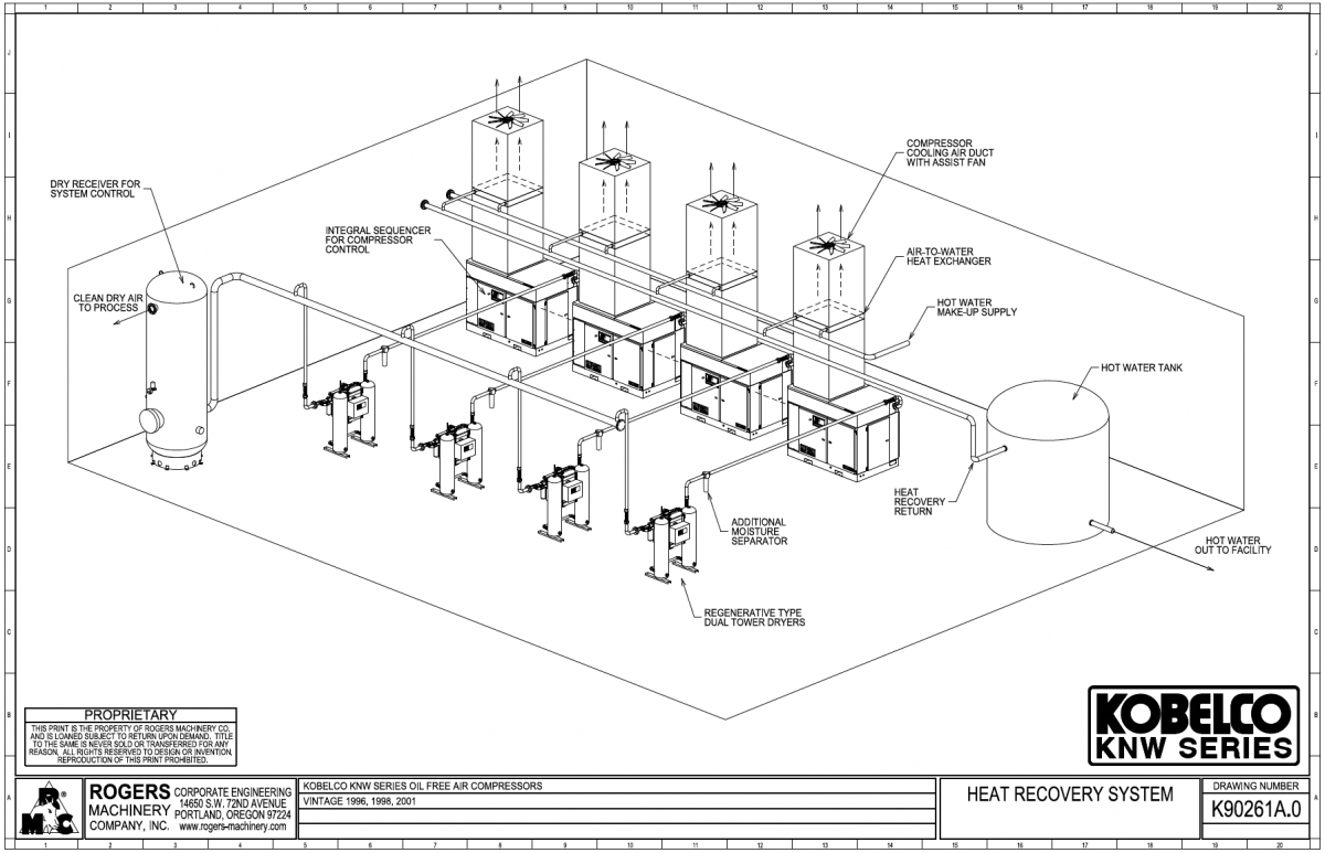 Project moreover Typical Installation For Twin Tower  pressed Air Desiccant Dryer in addition Piping 43532816 besides 2013 12 additionally 11 Key Considerations Selecting Pet Air  pressor System. on air compressor installation diagram