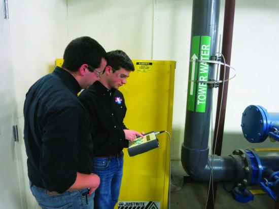 Students in the Tennessee Tech University Industrial Assessment Center program