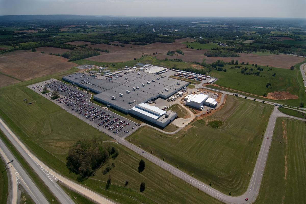 Nissan Powertrain Assembly Plant in Decherd, Tennessee