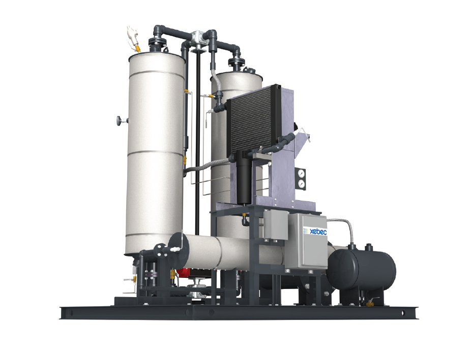 Natural Gas Desiccant Dryer