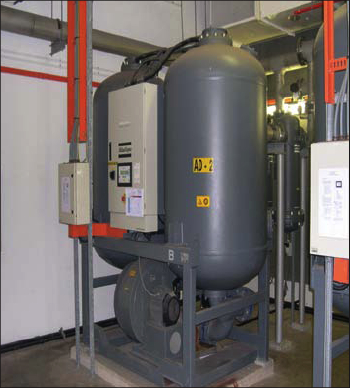 heated desiccant air dryers